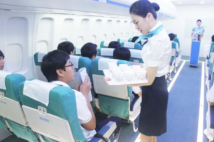 [항공서비스] 고교생 승무원 체험교실