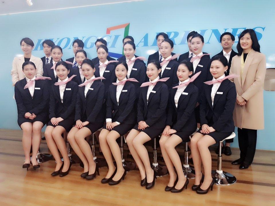 항공서비스 2017 명찰수여식